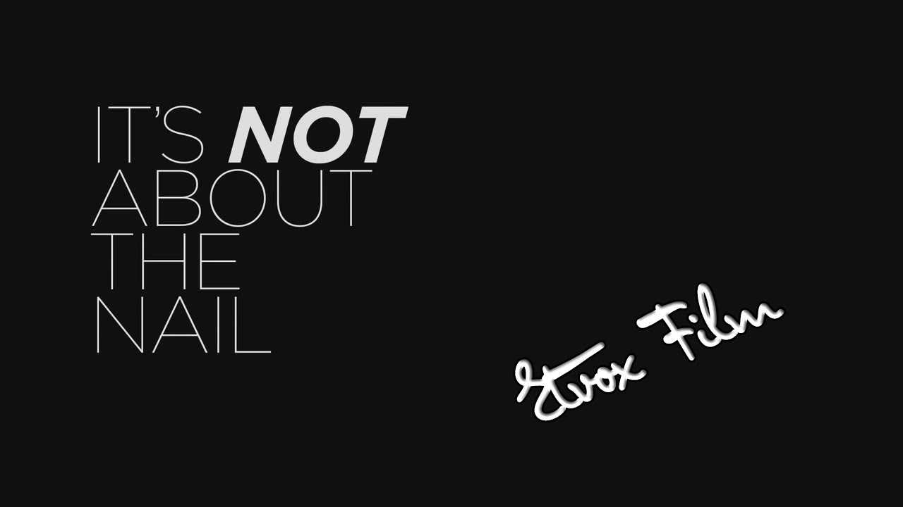 Its Not About The Nail - ROBERT MUNDLE